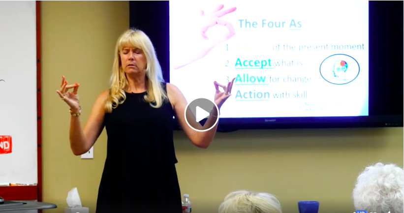 Video Blog: Quick and Easy 4 Finger Breathe Meditation