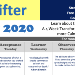 Stress Shifter's February Newsletter 2020